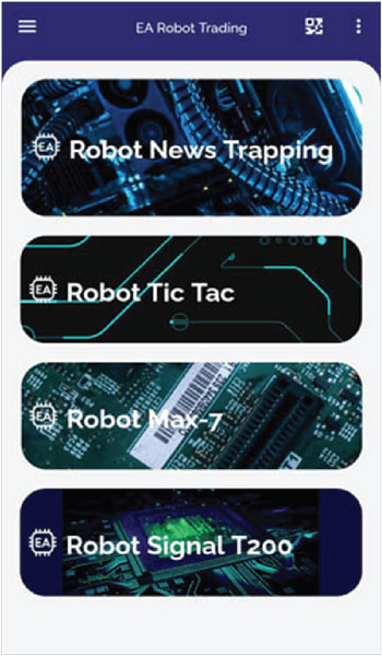 QuickPro App - Robot Trading Forex